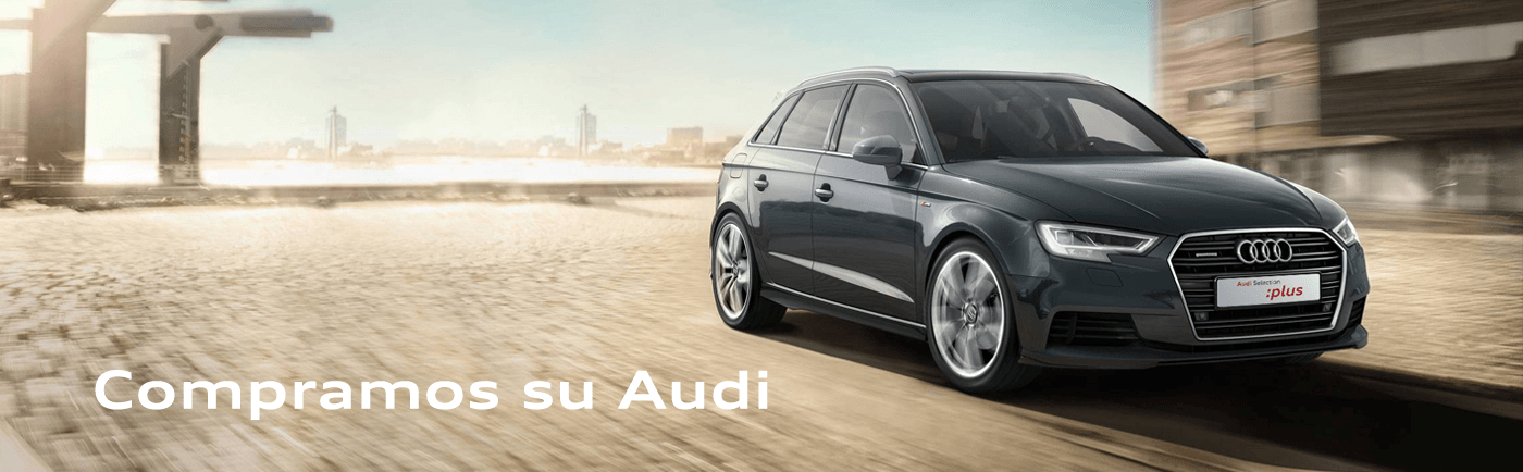 Compramos su coche Audi Selection :plus