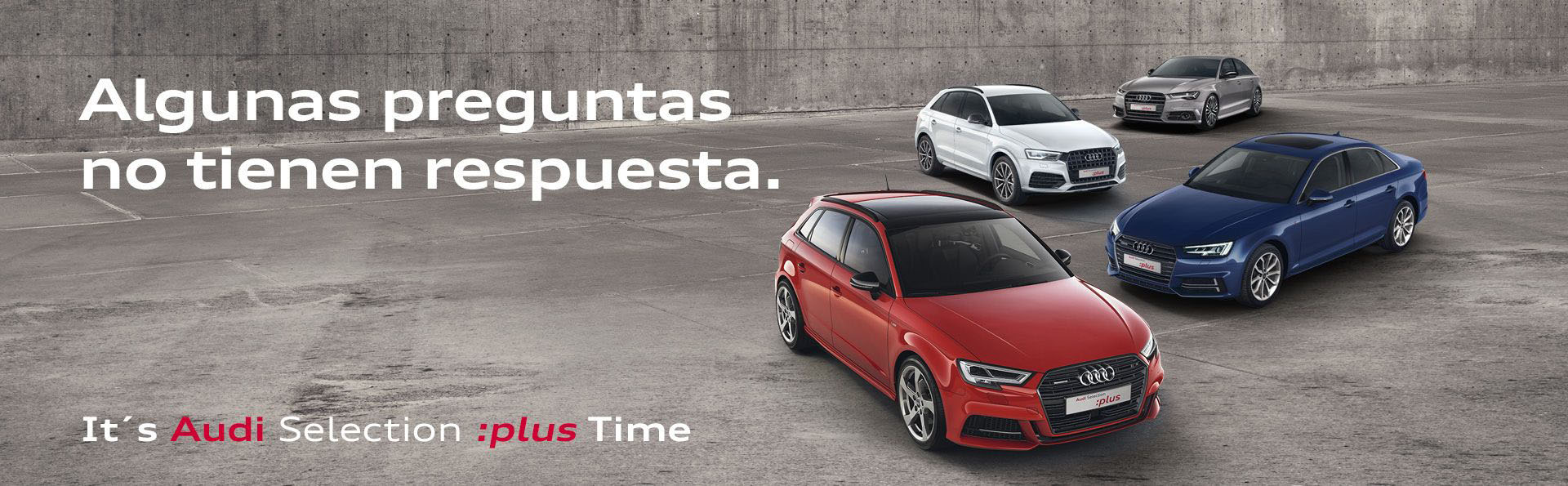 vehículos Audi Selection :plus Time