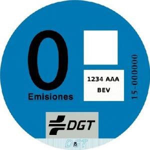 Distintivo Ambiental 0_EMISIONES