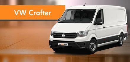 cuotas de volkswagen crafter en Das WeltAuto